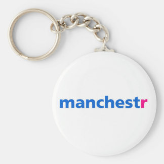 Manchester Flickr Key Ring