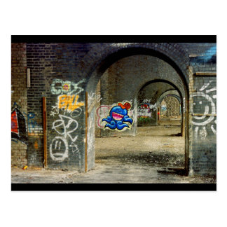 Manchester Graffiti Postcard
