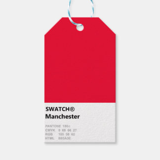 Manchester is RED Gift Tags