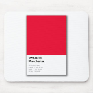Manchester is RED Mouse Mat