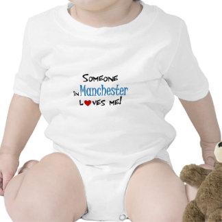 Manchester Love Baby Bodysuits
