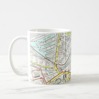Manchester Map Coffee Mug