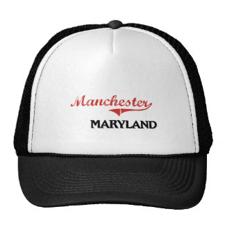 Manchester Maryland City Classic Hats