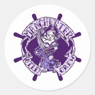 Manchester Motley Crew Classic Round Sticker
