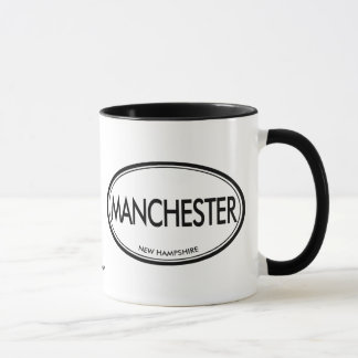 Manchester, New Hampshire Mug