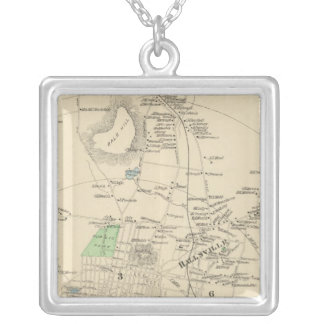 Manchester, NH city, town Silver Plated Necklace