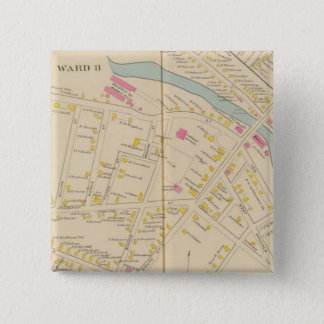 Manchester, NH, W Manchester, Ward 8 15 Cm Square Badge