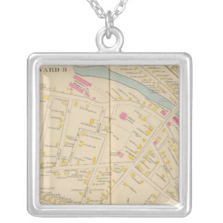 Manchester, NH, W Manchester, Ward 8 Silver Plated Necklace