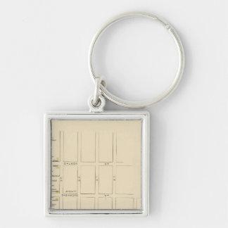 Manchester, NH, Ward 1 Key Ring