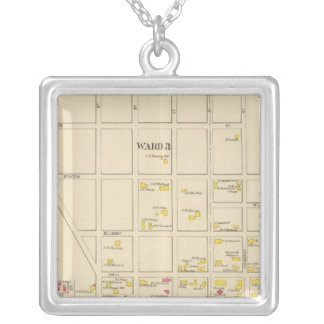 Manchester, NH, Ward 24 Silver Plated Necklace