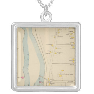 Manchester, NH, Ward 2 Silver Plated Necklace