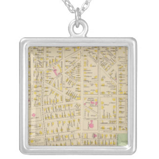 Manchester, NH, Ward 34 Silver Plated Necklace