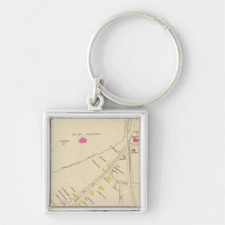 Manchester, NH, Ward 6 2 Key Ring