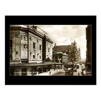 Manchester, Oxford Street, 1937 Postcard