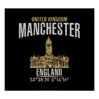 Manchester Poster