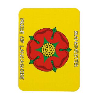 Manchester - Pride of Lancashire Fridge Magnet