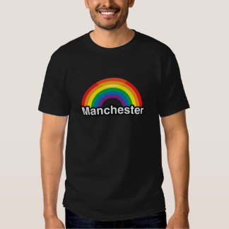 MANCHESTER PRIDE RAINBOW -.png Shirts