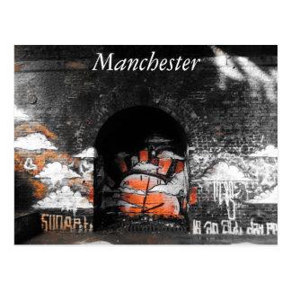 Manchester Railway Arch Postcard