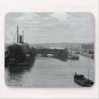 Manchester Ship Canal, c.1910 Mouse Mat
