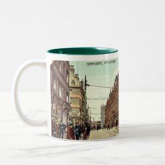 Manchester Souvenir Mug