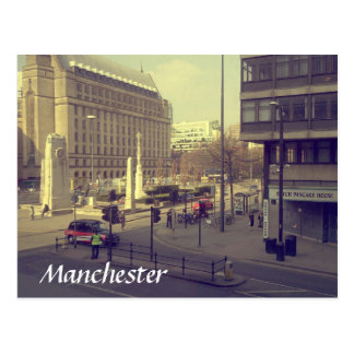 Manchester St Peter's Square Postcard