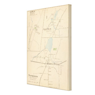 Manchester, Suffield, Broad Brook Canvas Print