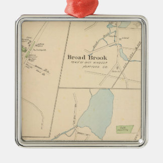 Manchester, Suffield, Broad Brook Christmas Ornament