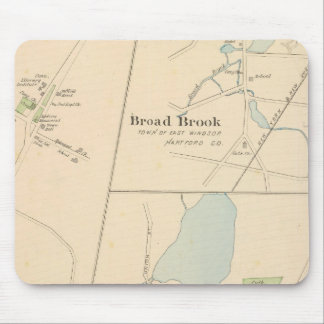Manchester, Suffield, Broad Brook Mouse Mat