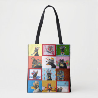 Manchester Terrier All-Over-Print Tote Bag
