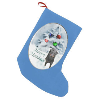 Manchester Terrier Christmas Small Christmas Stocking