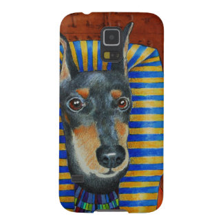 Manchester Terrier Egyption Pharoah Galaxy S5 Cases