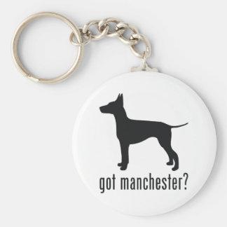 Manchester Terrier Key Ring