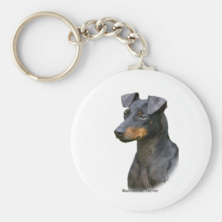 Manchester Terrier Key Ring