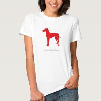 Manchester Terrier T-shirt (red natural)
