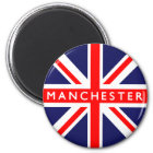 Manchester UK Flag Magnet