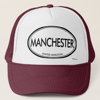 Manchester, United Kingdom Trucker Hat