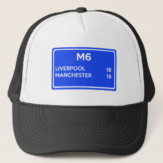 Manchester Versus Liverpool - Football Related Trucker Hat
