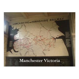 Manchester Victoria Postcard