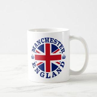 Manchester Vintage UK Design Basic White Mug