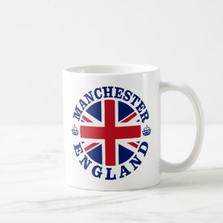 Manchester Vintage UK Design Coffee Mug