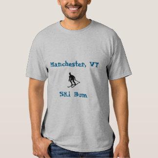 Manchester, VT, Ski Bum Tshirts
