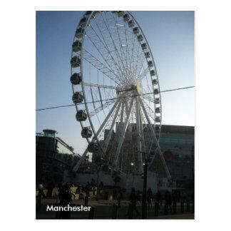 Manchester Wheel Postcard