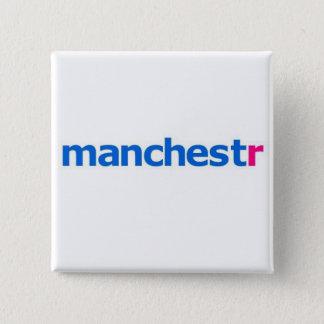 manchestr flickr 15 cm square badge