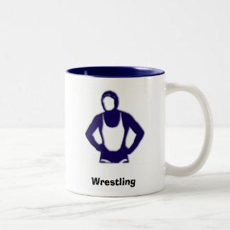 ManCub Wrestling mugs