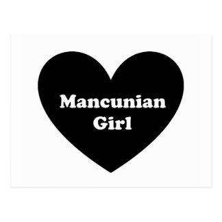 Mancunian Girl Postcard