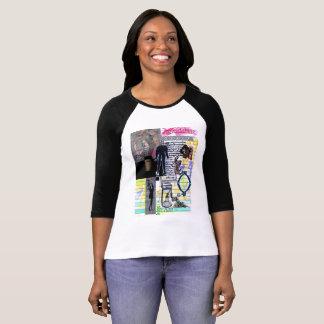 mandagora, dog, woman with surreal amphora glue T-Shirt