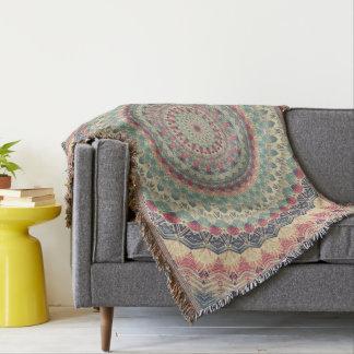 Mandala 002 throw blanket