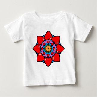Mandala 36 hearts color version shirt