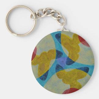 Mandala 4 keychain