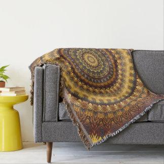 Mandala 74 throw blanket
